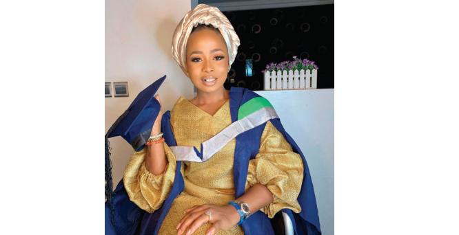 Alaafin's wife, Olori Badira, graduates