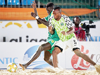 FIFA Beach Soccer W/C:  Nigeria not afraid of Brazil – coach