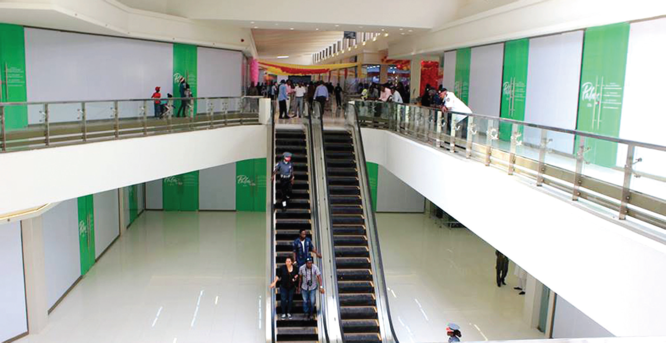 Retail malls gasping for breath under poor economy