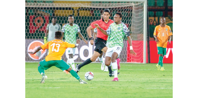AFCON qualifiers: Eagles' camp bubbles as 14 players train in Uyo