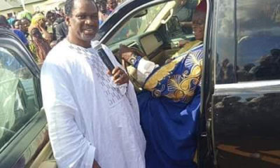 Bishop Zuga gifts King of Ejule new Lincoln Navigator SUV
