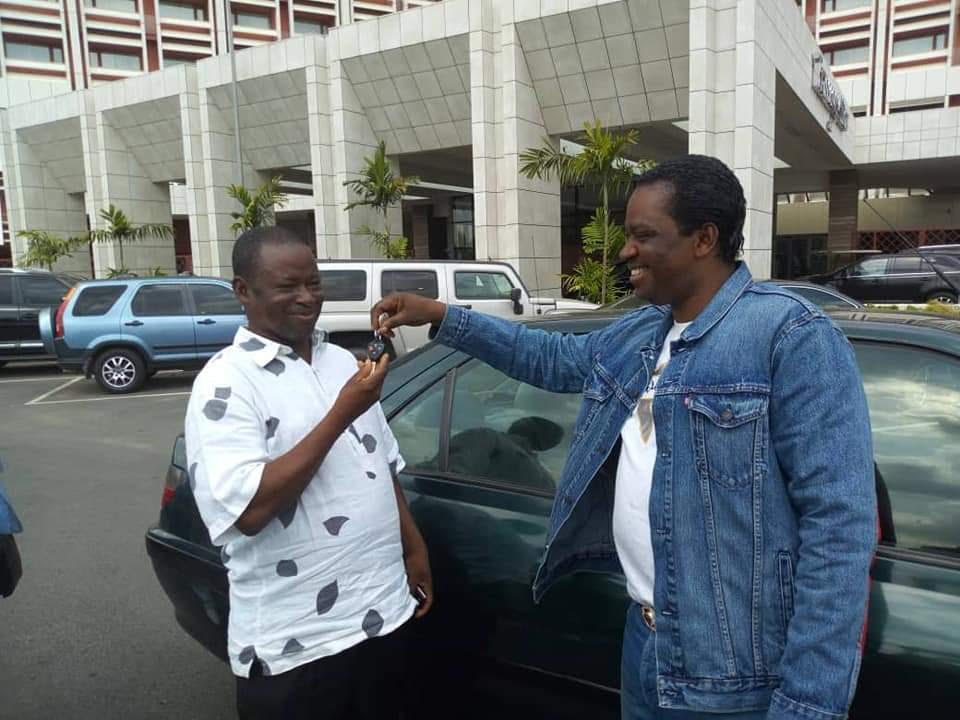 Catholic priest is beneficiary of brand new car from Bishop Zuga