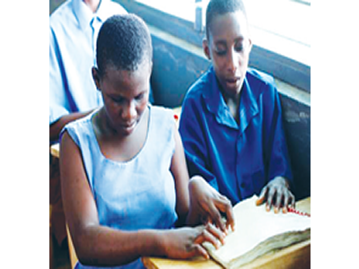 Ensuring inclusive education for blind students