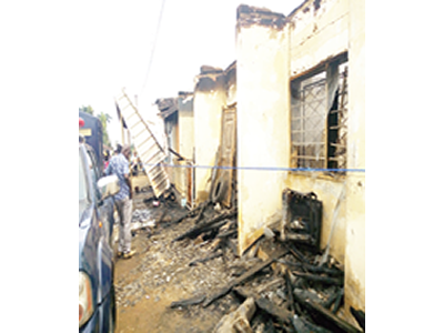 Benue's Perm Sec, pregnant wife, two children burnt to death