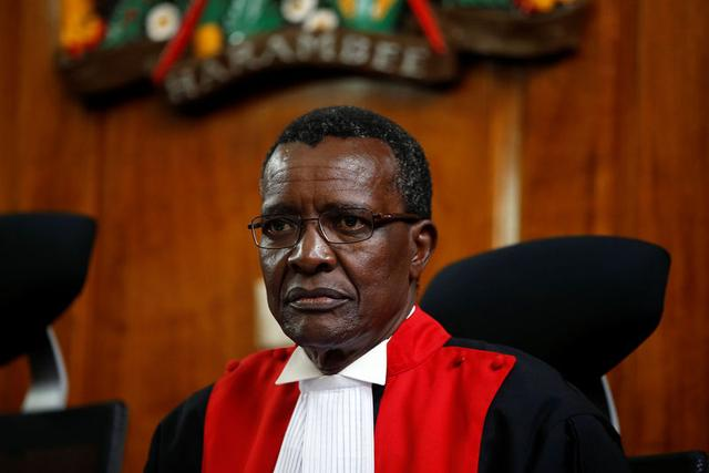 You're starving us of funds, Kenya's Chief Justice laments