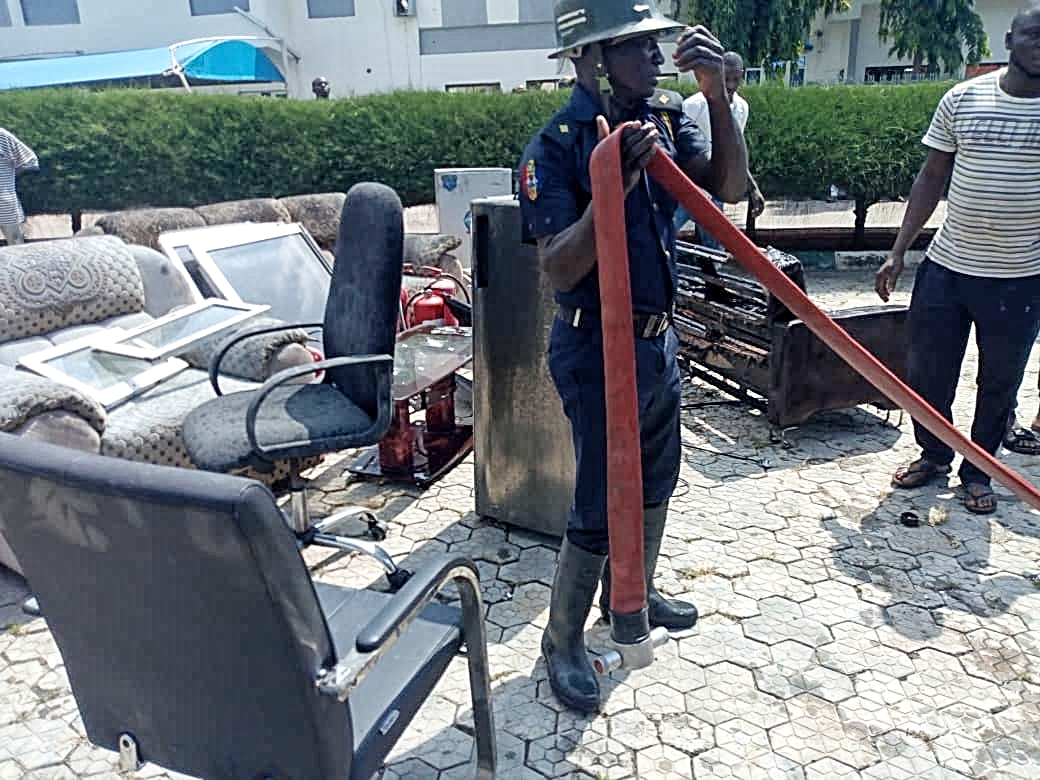 Disaster averted as fire guts office at Niger Govt House