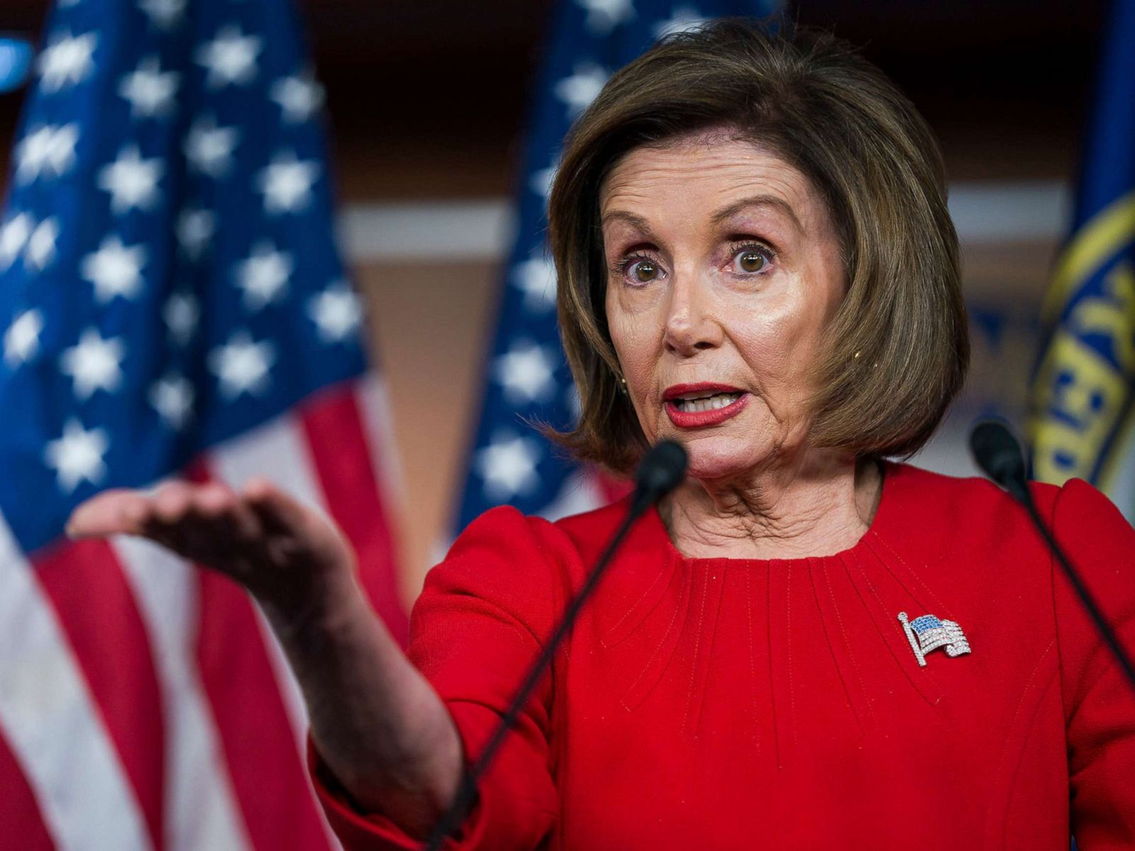 US Speaker says impeachment testimony shows 'bribery' case against Trump