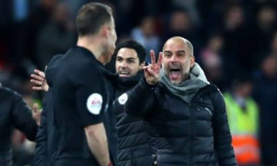EPL: Guardiola wants ref to explain VAR decision after Man City defeat