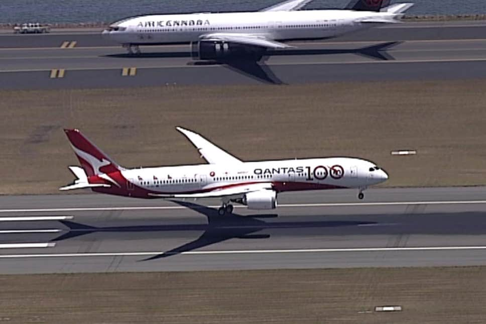 Direct Qantas flight completes non-stop journey from London to Sydney