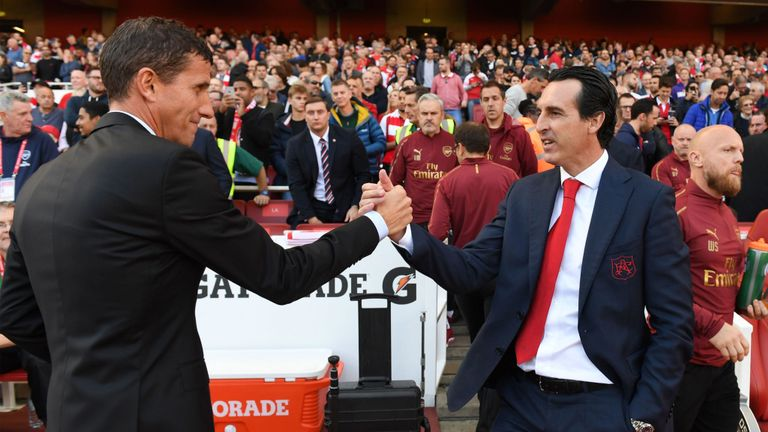 Arsenal insist Unai Emery is 'the right man for the job'