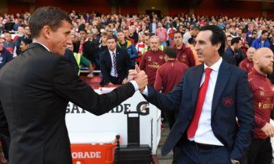 Report: Arsenal board still behind underfire Unai Emery