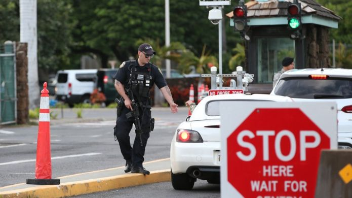 US sailor kills workers at Hawaii navy base