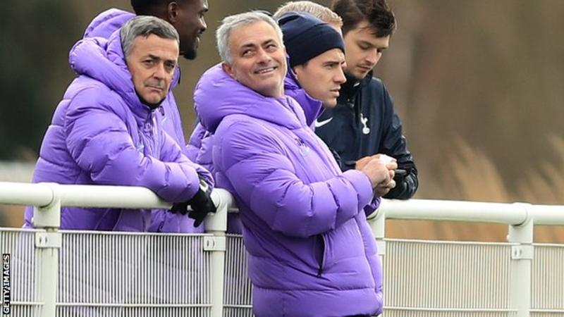 EPL: Mourinho sleeps at training ground to prepare for Burnley