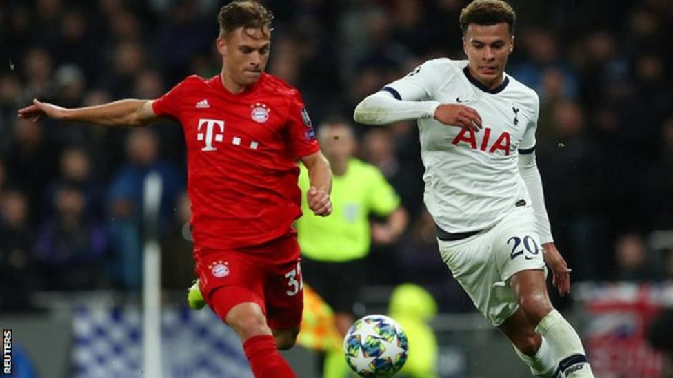 UEFA League: Mourinho bans Spurs' players from watching 7-2 Bayern defeat