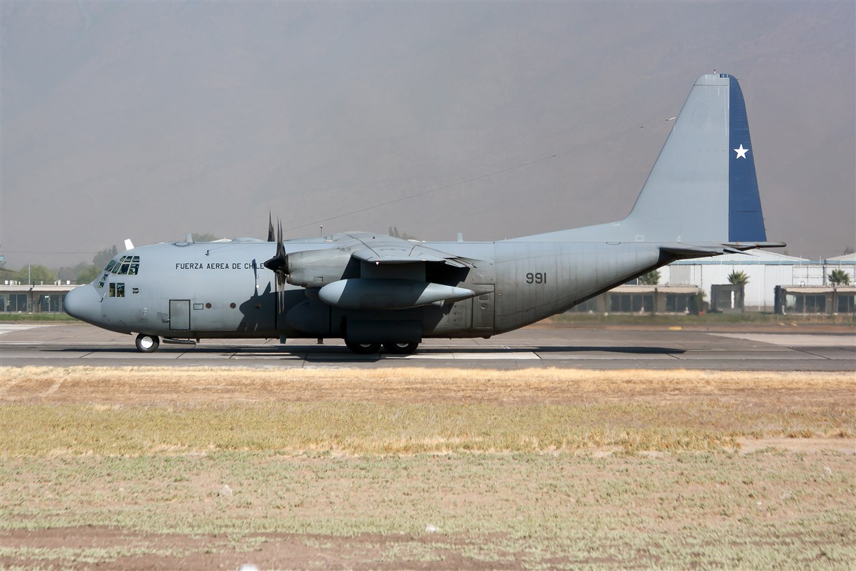JUST IN: Chilean Air Force plane with 38 people aboard crashes