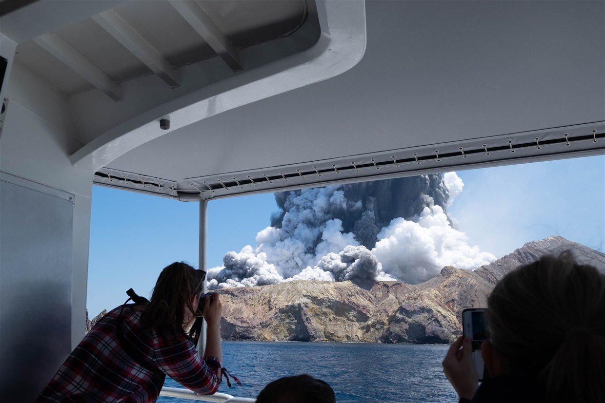 One killed, others missing in New Zealand volcano eruption