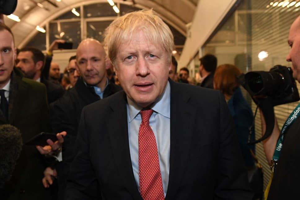 JUST IN: Conservatives win majority as Boris Johnson secures landslide victory