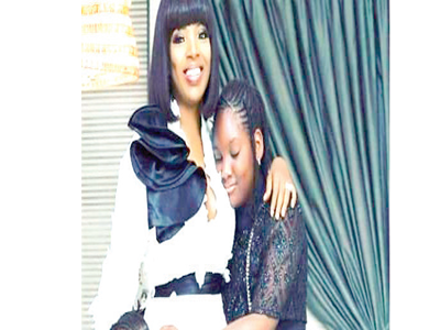 Annie Idibia celebrates daughter on 11th birthday