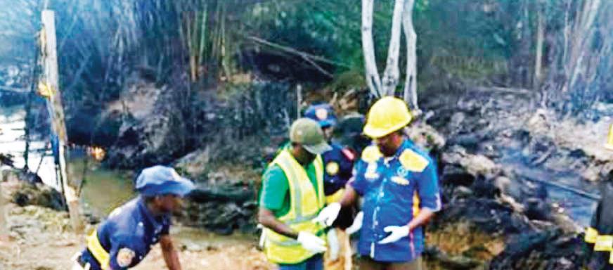 LAGOS EXPLOSION: Community becomes hostile