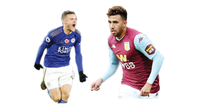 EPL: Foxes continue top two quest at Villa Park