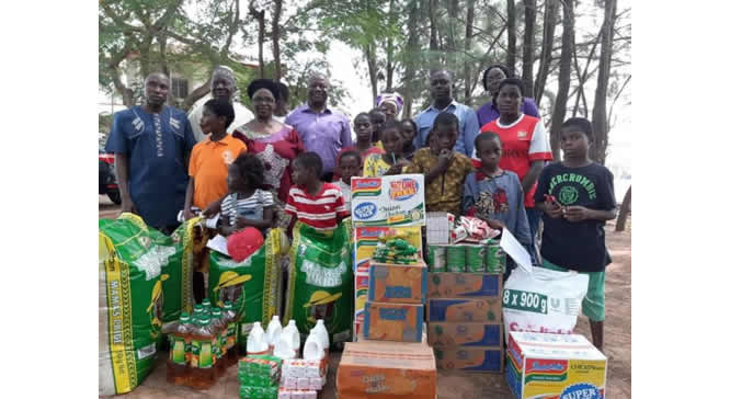 ATIC Donates over N200,000 worth of gift Items to the less privileged