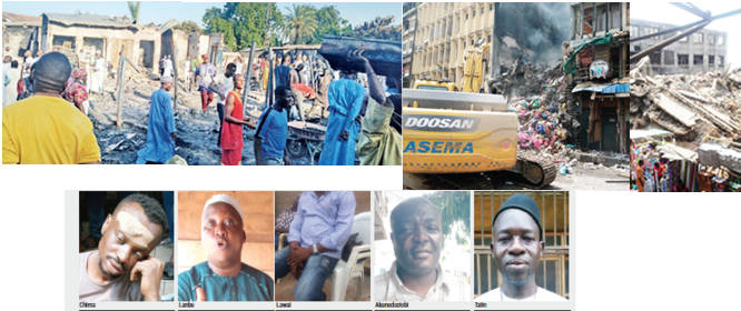 FIRE IN MARKETPLACES: We don't believe in insurance policy –Traders