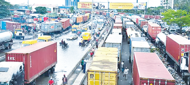 Gridlock: Stakeholders seek transit parks for trucks