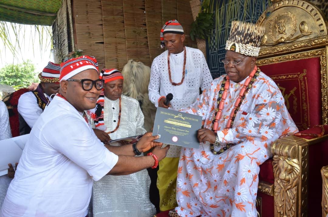 I dedicate this award to God and Uyo people -Emmanuel Sam