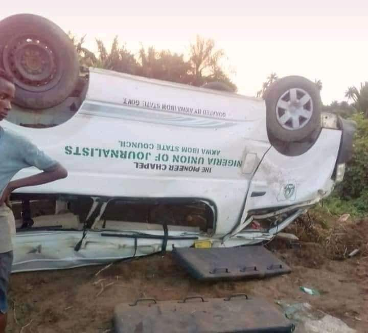 JUST IN: A'Ibom-owned newspaper, Pioneer, loses four staff in ghastly accident