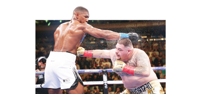Clash on the Dunes:  Joshua aims to reclaim heavyweight titles from Ruiz in Saudi
