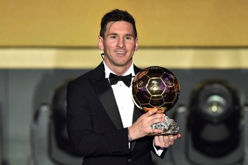 Messi thanks journalists for Ballon d'Or record