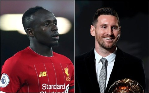 Ballon d'Or: Messi sends message to Sadio Mane