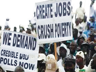 Economic growth amidst rising unemployment
