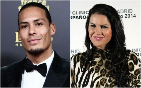 Image result for images of Cristiano Ronaldo's sister calls out Liverpool's Virgil van Dijk over his joke about the Juventus striker at Ballon d'Or awards