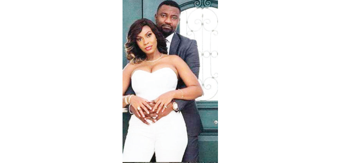 You'll meet my new husband if polygamy is legalised, John Dumelo's wife replies him