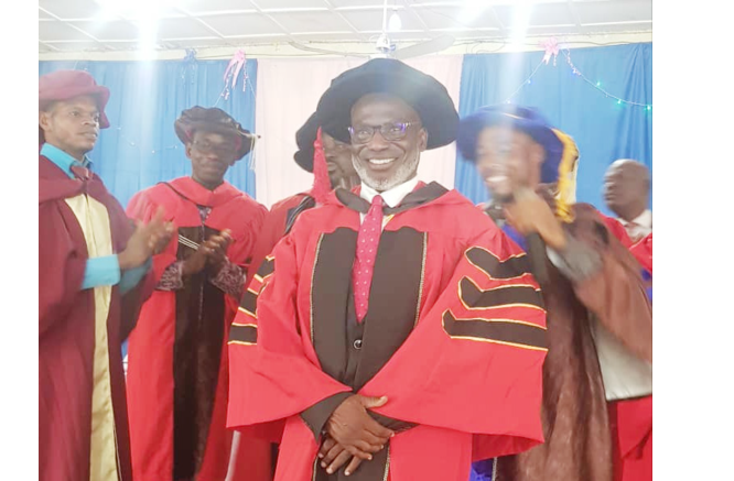 ZMirage CEO, Teju Kareem bags Honourary Doctorate in Benin Republic