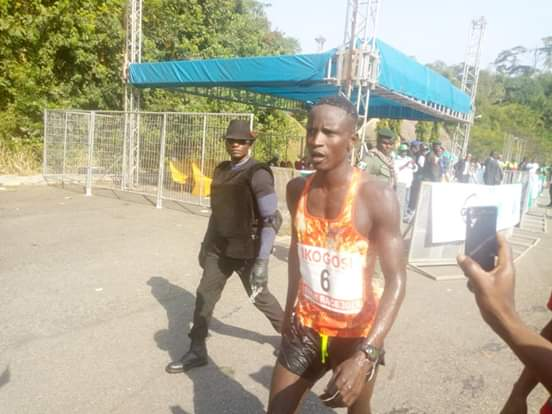 Cross River's Saddo Ismail triumphs in 10km Ikogosi Race