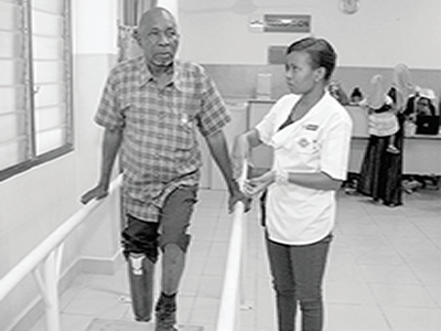 Investing in medical rehabilitation,  key to quality life for PWDs