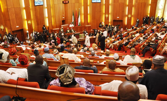 Buhari asks Senate to confirm Nami as FIRS boss, 13 others as board  members