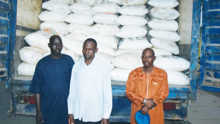 Three arrested with 300 stolen bags of fertilizer - New Telegraph Newspaper